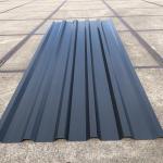 Damwandplaten 35-1035 zwart restantpartij